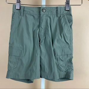 NWOT Kids REI Outdoor Hiking Cargo Shorts Size 4-5